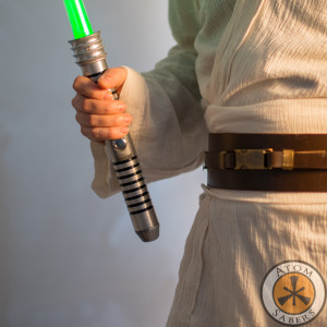 Jedi ligtsaber with belt