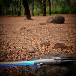 espada láser clásica